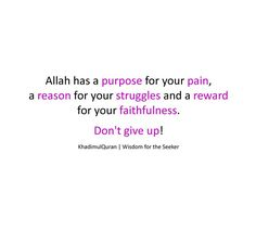 Dont give up....