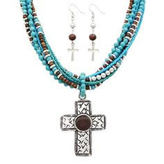 Rosemarie Collections Women's Religious Jewelry Turquoise... http://amzn.to/2A68pJd