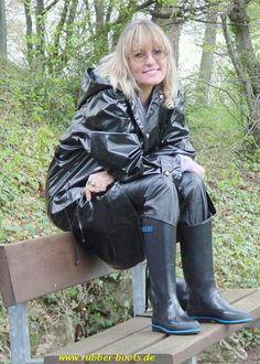 Black mack & rainboots