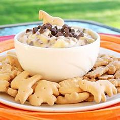 Chocolate Chip Cookie Dough Dip-- Made this for Thanksgiving and Christmas!