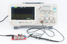 a high quality, and cheap diy oscilloscope Electronics Projects, Electronics Basics, Electronics Storage, Cheap Electronics, Hobby Electronics, Electronic Shop, Electronic Gifts, Ipod, Smartphone