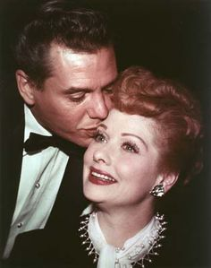 Lucille Ball & Desi Arnaz. So very sorry their marriage didn't work out. The talent between these two is not to be rivaled. (acting, comedy, directing and producing)