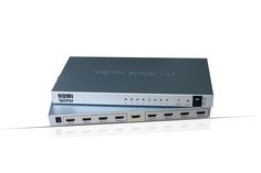 4k 1.4V 1X8 HDMI Splitter with 3D