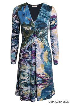 Livia Adria Blue von KD Klaus Dilkrath #kdklausdilkrath #kd #kd12 #dilkrath #KDKlausDilkrath #LiviaDress #blue #fashion #dress