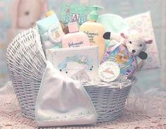 Baby Gift Basket Ideas