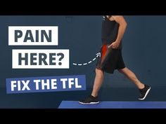 If you've got TFL pain, typical static stretching or massage is not the answer. Read this guide to discover the 3 steps to lasting relief. Ab Core Workout, Hip Workout, Strength Workout, Workouts, Fascia Stretching, Stretching Exercises, Static Stretching, Band Exercises, Stretches