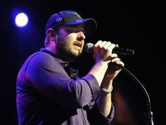 Chris Young performs at a fan club party at the Grand Ole Opry