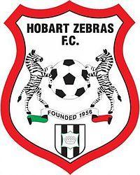 1956, Hobart Zebras FC (Glenorchy, Australia) #HobartZebrasFC #Glenorchy #Australia (L18562)
