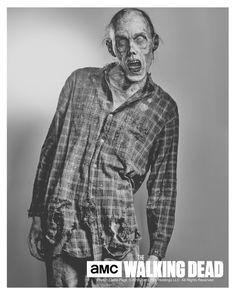 The Walking Dead Walker Print  Stephen Vining  TWD