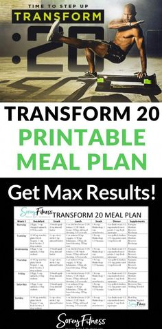 5145b05ec72b55 Shaun T s Transform 20 uses a meal plan that takes Beachbody portion  control containers for maximum