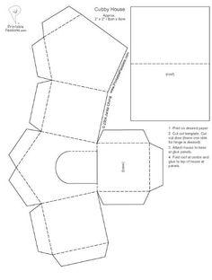 Dog house template