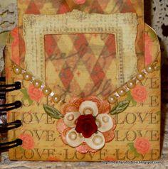 Heather A Hudson: Vintage Romantic LOVE Mini ALbum