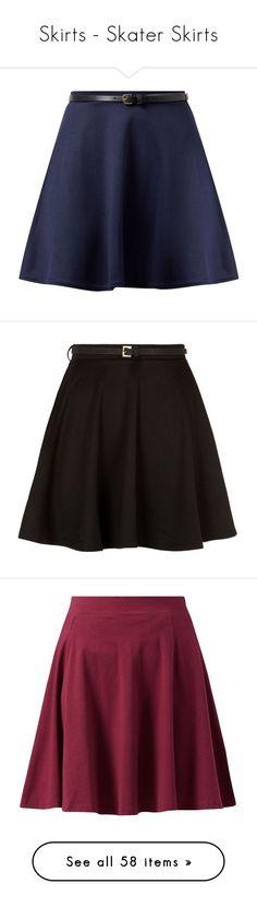 """Skirts - Skater Skirts"" by giovanna1995 ❤ liked on Polyvore featuring skirts, mini skirts, bottoms, saia, faldas, navy, circle skirts, navy mini skirt, blue circle skirt and navy skirts"