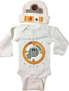 Star Wars Baby Boy Bodysuit Long Sleeve Set Bodysuit and Hat Star Wars Baby Bodysuit Long Sleeve Set With A Beanie And A Lap Shoulder Fold Snap On Buttons Robot Costume May The Force Be With You Robot Costumes, Baby Halloween Costumes, Baby Costumes, Toddler Costumes, Halloween Fun, Star Wars Baby, Star Wars Film, Boy Outfits, Cute Outfits