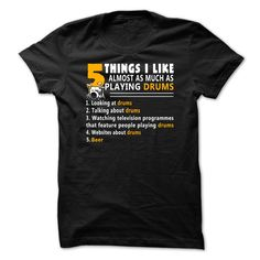 drum drumming drummer T-Shirts, Hoodies. BUY IT NOW ==► https://www.sunfrog.com/No-Category/product-768.html?id=41382