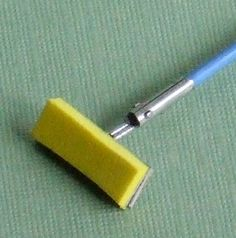 Sponge Mop 1/12th scale miniature   Flickr - Photo Sharing!