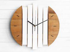 Wall Clock White Clock Modern Wall Clock Round Wall Clock