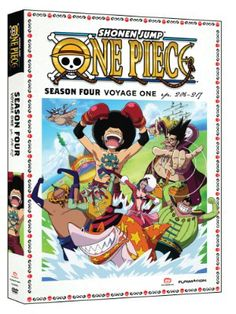 One Piece Season 4 DVD Part 1 (Hyb) Uncut  #RightStuf2013
