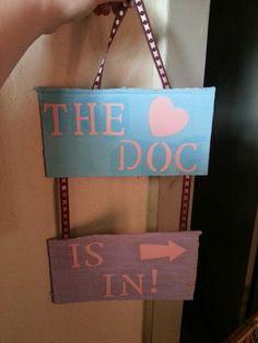 doc mcstuffins welcome sign