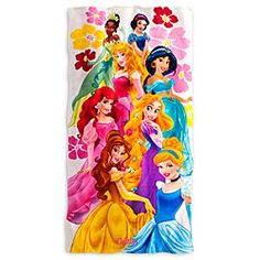 Disney Princess Beach Towel - Personalizable | Disney StoreDisney Princess Beach Towel - Personalizable - Dry-off in style as you make every trip to the beach or pool a royal occasion with our Disney Princess Beach Towel. Made of 100% cotton, it can be personalized so she'll know its hers happily ever after.