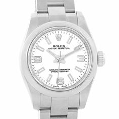 Women's Certified Pre-Owned Watches - Rolex Nondate automaticselfwind womens Watch 176200 Certified Preowned * Continue to the product at the image link.