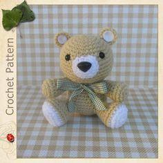 Cute teddy bear crochet pattern