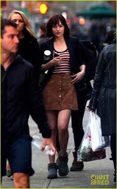 Dakota Johnson Starts Shooting 'How to Be Single' in NYC