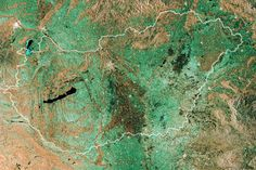 Hungary 15 Stunning Images of Earth From the European Space Agency's Satellite Earth From Space, Hungary, Mosaic, Image, December 2014, Planet Earth, Outer Space, Homeland, Cosmos