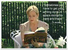 Brand, Ideas, Story, Style, My Life: 7 Important Writing Tips from J.K. Rowling