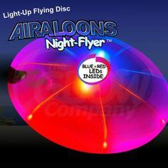 night flyer frisbee!!
