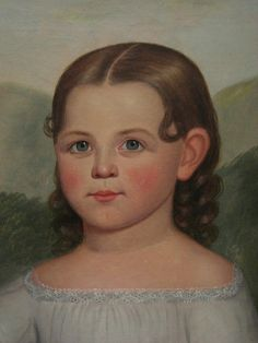 Portrait of Mary Elizabeth Bennet Joseph Goodhue Chandler, 1852