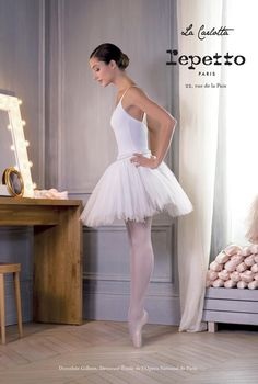 dorothée gilbert for repetto photo by james bort