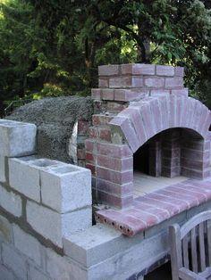JCT❤️  brick oven,  ricopertura in cemento