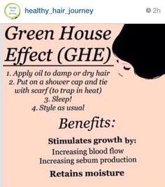 Hair Moisture ... Green House Effect