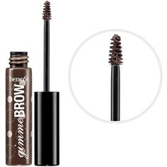 Benefit Cosmetics Gimme Brow Volumizing Fiber Gel (31 CAD) ❤ liked on Polyvore featuring beauty products, makeup, eye makeup, beauty, cosmetics, eyebrows, benefit makeup, benefit eye makeup, eyebrow makeup and eyebrow cosmetics