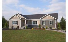 Two story photo gallery photos of two story modular for Custom ranch home builders maryland