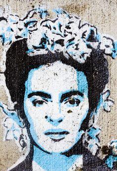 Street art.. La Frida♥