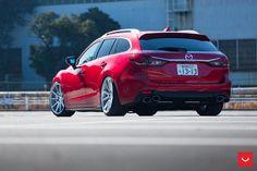ATENZA(Mazda6) CHAOS VOSSEN Mazda 6 Estate, Mazda 6 Wagon, Mazda Cx3, Wagon Cars, Ride 2, Import Cars, Japanese Cars, Car Photos, Custom Cars