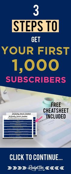 Email List Building Tips: How to grow a list that will actually make you money, and get your first 1000 subscribers.