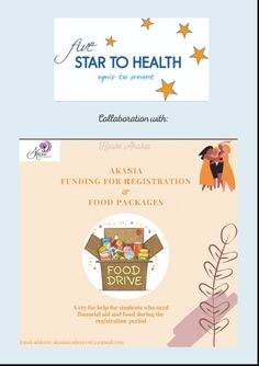 5 Star to Health is proud to announce our collaboration with this amazing initiative, to raise funds, food and hygiene products for UFS students. To make a contribution or for more info please DM us or contact Lee Liddell: 079 483 1715💙 Recycling Containers, Food Drive, Personal Hygiene, Raise Funds, Cry For Help, Food Packaging, Collaboration, Herbalism, How To Become