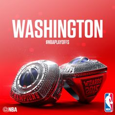 In a genius bit of marketing that will allow fans of teams like the Pelicans, Nets and Trail Blazers to pretend like their team won a title, the NBA has put out Basketball Leagues, Basketball Teams, 2015 Nba Champions, Nba Rings, Nba Championship Rings, Nba League, Nba Wallpapers, Washington Wizards, Nba Playoffs