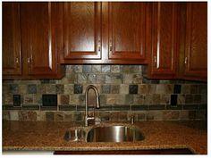 Rustic Kitchen Backsplash rustic tile backsplash ideas: mesmerizing rustic kitchen design