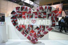 Bread & Butter Berlin 2014 Winter – MOON BOOT Display Design, Booth Design, Store Design, Visual Merchandising, Finger Heart, Winter Moon, Retail Interior Design, Product Presentation, Exhibition Stall