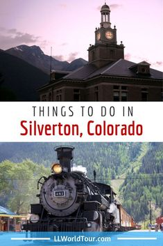Things to do in Silverton Colorado - From skiing and hiking to biking and kayaking, Silverton, high up in the San Juan Mountains of southwest Colorado, has something for everyone.and more beauty than you can imagine! Silverton Train, Silverton Colorado, Durango Colorado, Visit Colorado, Colorado Trip, Creede Colorado, Colorado Vacations, Family Vacations, Breckenridge Colorado