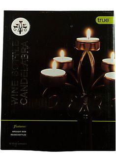 Wine Bottle Candelabra $15.99