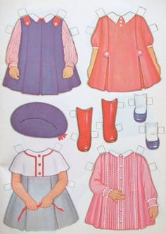 Paper Dolls~Lowe Mimi & Emily - DollsDoOldDays - Picasa Web Albums