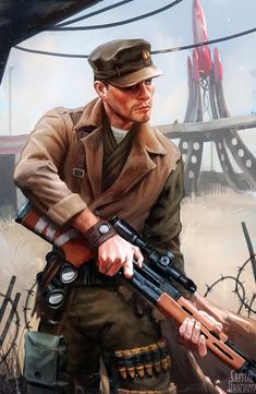 Maccready (Fallout 4) by CrystalGrazianoArt.deviantart.com on @DeviantArt