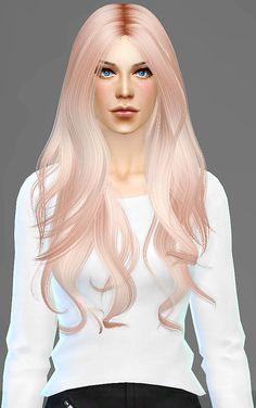 Artemis Sims: Alesso`s Quantum hairstyle retextured  - Sims 4 Hairs - http://sims4hairs.com/artemis-sims-alessos-quantum-hairstyle-retextured/