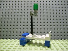 Advent Calendar 2006 City (Day 8) Hospital Bed with IV Stand
