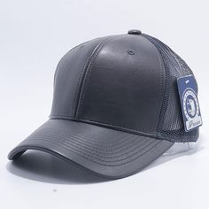 981e866b983 Pit Bull Leather Trucker Hats Wholesale  Charcoal  Blank Hats